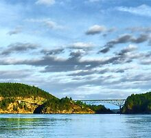 Bridge Panorama by Rick Lawler