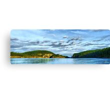 Bridge Panorama Canvas Print