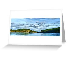 Bridge Panorama Greeting Card