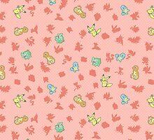 Chibi Pokemon Patterns! Kanto/Generation 1 by Yuririi