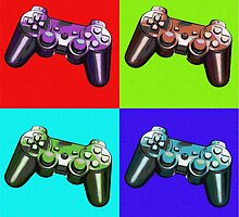 Game Controller Pop Art by GrimDork