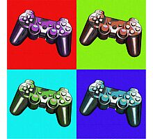 Game Controller Pop Art Photographic Print