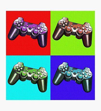 Game Controller Pop Art Photographic Print