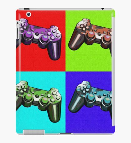 Game Controller Pop Art iPad Case/Skin