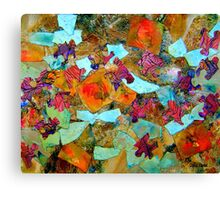 Bits and Pieces Canvas Print