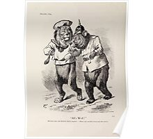 Cartoons by Sir John Tenniel selected from the pages of Punch 1901 0142 All's Well Poster