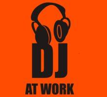 Dj At Work - Headphones by deanonet
