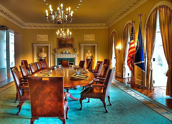 The Cabinet Room by Kate Adams