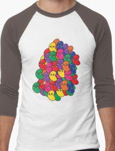 Happy Kawaii Jellybeans Men's Baseball ¾ T-Shirt