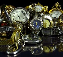 Too Much Time - A collection on black by itsmymoment