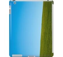 Grass and sky iPad Case/Skin