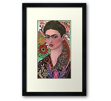 The Woman of Endless Creativity  Framed Print