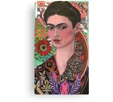 The Woman of Endless Creativity  Canvas Print