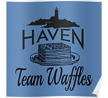 Haven Team Waffles Poster