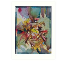 Heart attack in search of a metaphor Art Print