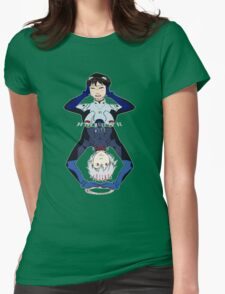 Lonely Hearts Club- Evangelion Womens Fitted T-Shirt