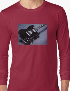 Gibson SG Standard Blue Long Sleeve T-Shirt