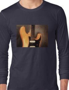 Fender Stratocaster Electric Guitar Long Sleeve T-Shirt