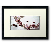 Precious Jewels Framed Print