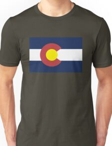 Colorado State Flag, USA Unisex T-Shirt