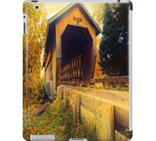 Smith Rapids Covered Bridge,Price County,Wisconsin U.S.A. iPad Case/Skin