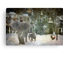 Theatre Of The Absurd #2 Canvas Print