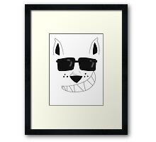 I Am A Trained Furfessional (No Text) Framed Print