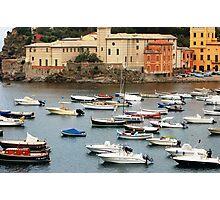Summer in Sestri Levante Photographic Print
