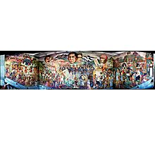 Mural of Revolutionary Heroes, Oaxaca Ciudad, Mexico Photographic Print