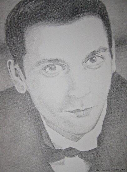 Portrait of Jordan H. by Christopher Clark