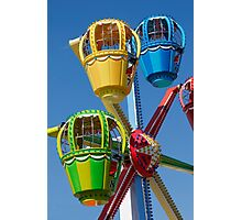 Fairground Ferris Ride Photographic Print