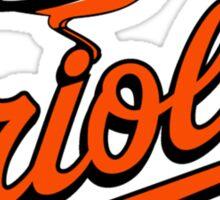 Baltimore Orioles logo Sticker
