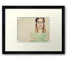 You're interrupting me i think Framed Print