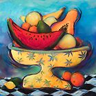 """Fruit Bowl #2"" by DianeStevenett"