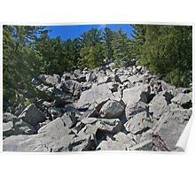 Rocky Climb Poster
