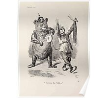 Cartoons by Sir John Tenniel selected from the pages of Punch 1901 0114 Turning the Tables Poster