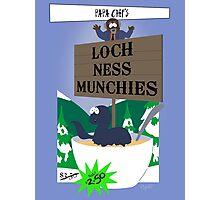 Papa Chef's Loch Ness Munchies Photographic Print
