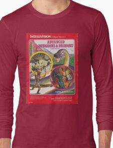 Advanced Dungeons & Dragons Cartridge Long Sleeve T-Shirt