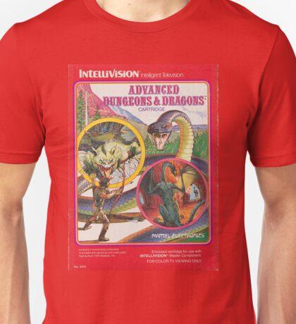 Advanced Dungeons & Dragons Cartridge Unisex T-Shirt