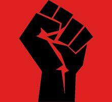 Raised Revolution Fist, Silhouette T-Shirt
