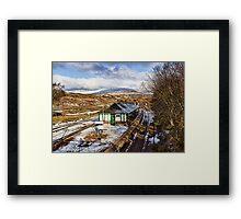 Rannoch Station Framed Print