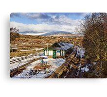 Rannoch Station Canvas Print