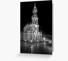 Dresden Church Greeting Card