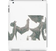 Thick as paper iPad Case/Skin