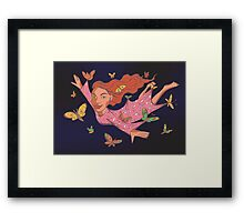 Nightflyer Framed Print