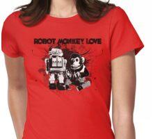 Robot Monkey Love T-Shirt