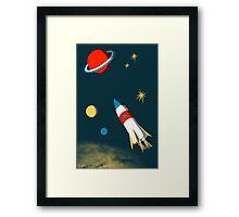 Space Adventure Framed Print