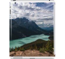 (Nearly) Clear Skies at Peyto Lake iPad Case/Skin