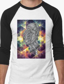 Psychedelic Euphoria Men's Baseball ¾ T-Shirt
