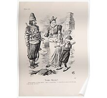 Cartoons by Sir John Tenniel selected from the pages of Punch 1901 0161 Tender Mercies Poster